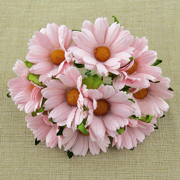 50 PALE PINK MULBERRY PAPER CHRYSANTHEMUMS