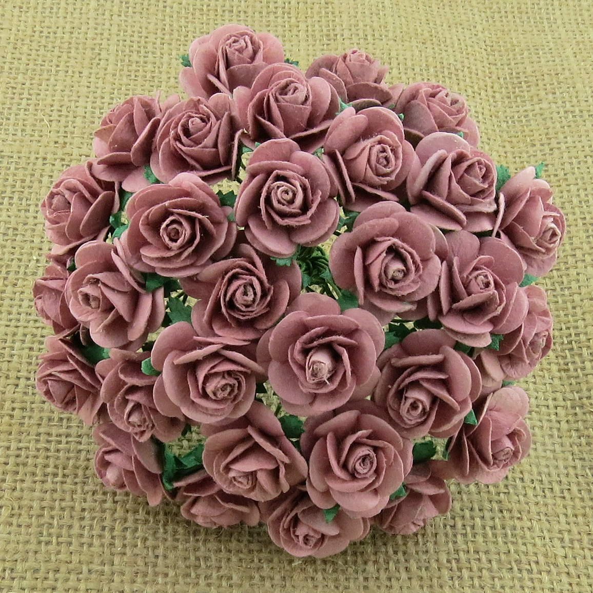 100 Dusky Pink Mulberry Paper Open Roses Saa 489 Promlee Flowers