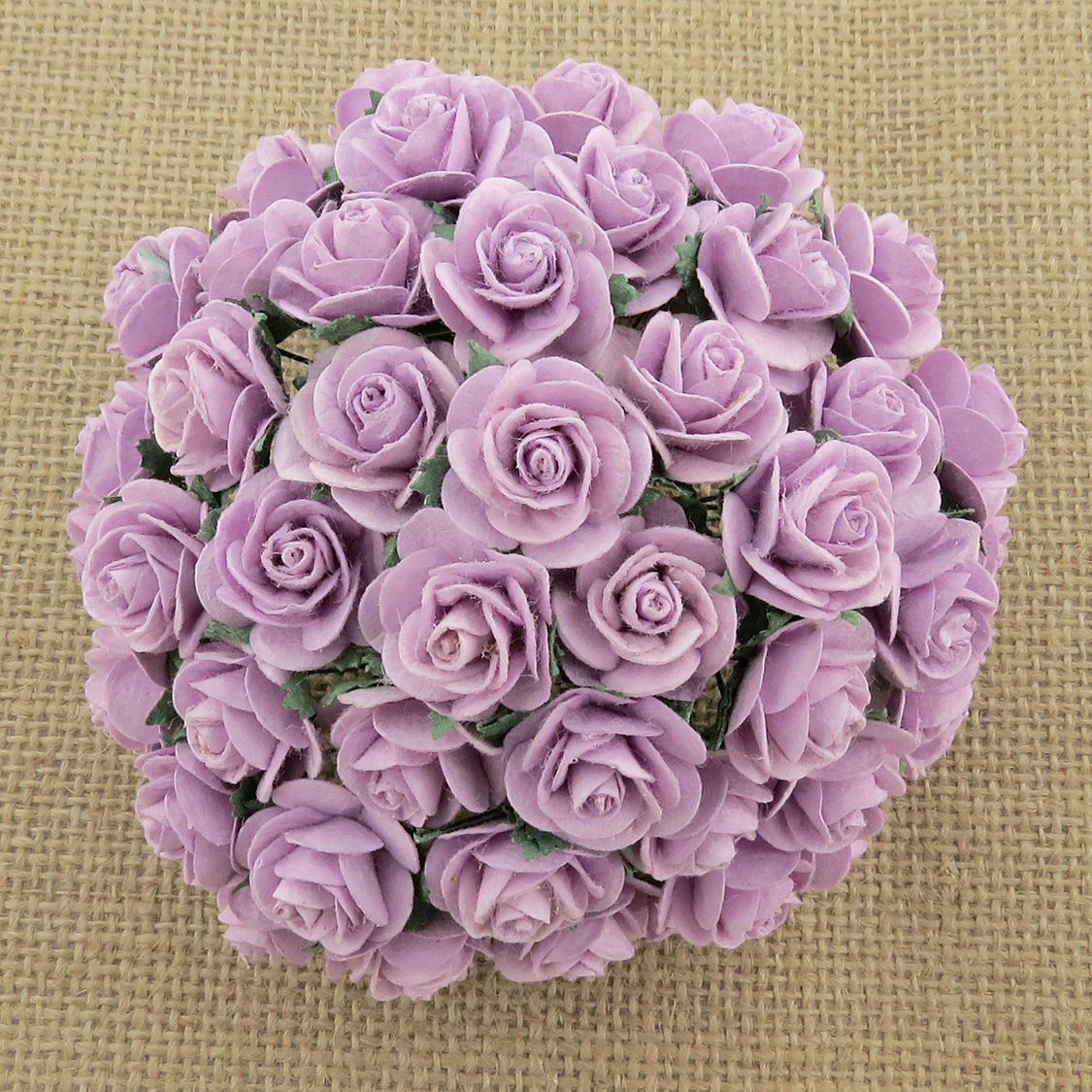 100 LILAC MULBERRY PAPER OPEN ROSES