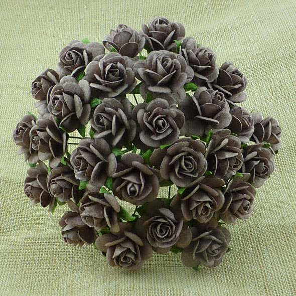 100 WALNUT MULBERRY PAPER OPEN ROSES